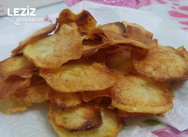Patates Cipsi (Ev Yapımı)