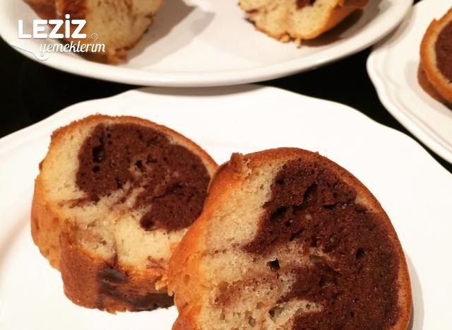 Yumuşacık Kakaolu & Sade Kek Tarifim (Detaylı Anlatım)
