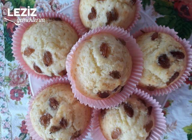 Limonlu Üzümlü Muffin