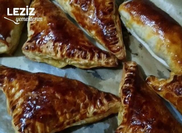 Tavuklu Milföy Böreği Tarifi