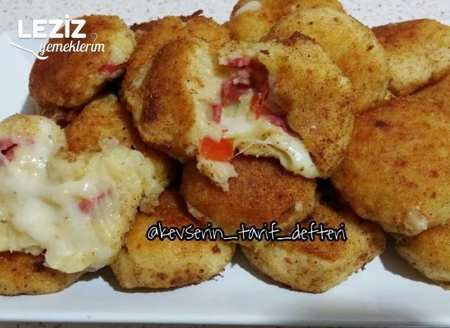 İçi Dolgulu Çıtır Çıtır Patates Kroket