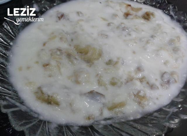 Közlenmiş Patlıcan Yoğurtlaması