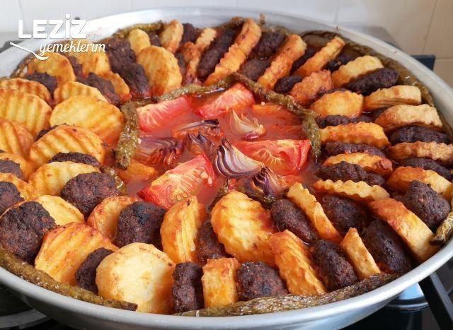 Fırında Köfte Patates (Sarımsaklı)