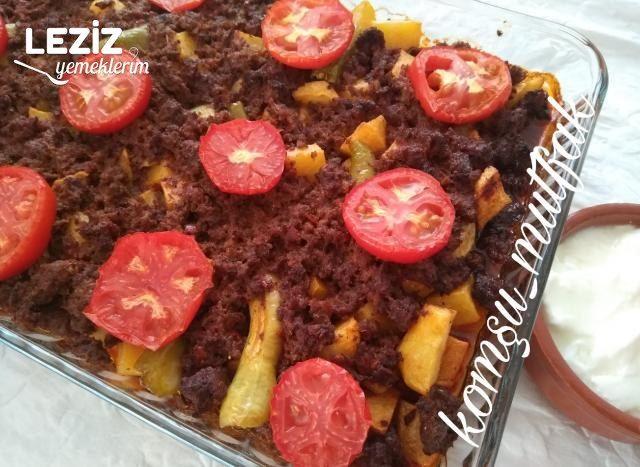 Patates Ve Patlıcanlı Musakka