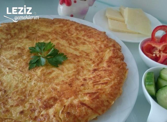 Patatesli Omlet (Harika Lezzet)