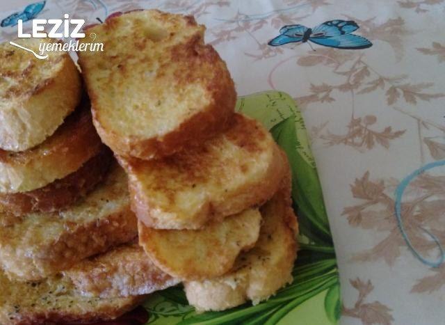 Baharatlı Yumurtalı Ekmek