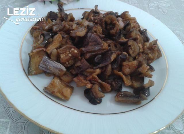 Kuru Patlıcan Kavurması Tarifi