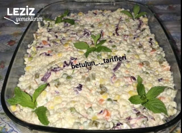 Rus Salatası Tarifim