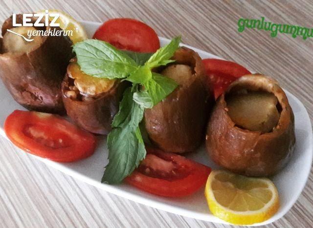 Mor Patlıcan Dolması