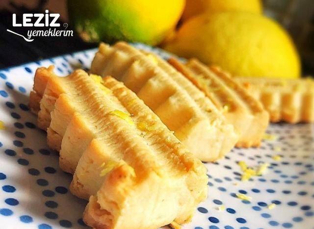 Limon Aromalı Bisküvi