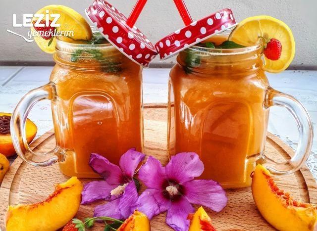 Doğal Şeftalili Limonata