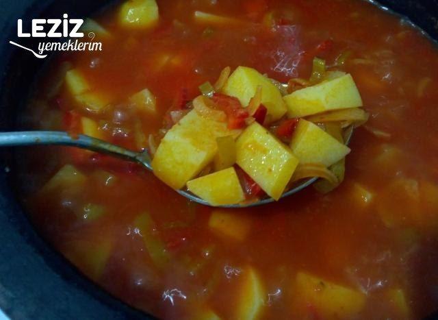 Sebzeli Patates Yemeği
