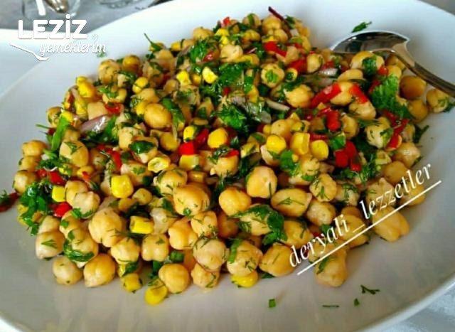 Nohut Salatası (Orjinal - Ev Yapımı)