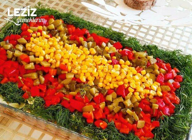 Börülce Salatası (Şekli Şahane)
