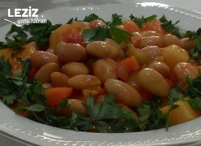 Patates Ve Havuçlu Zeytinyağlı Barbunya