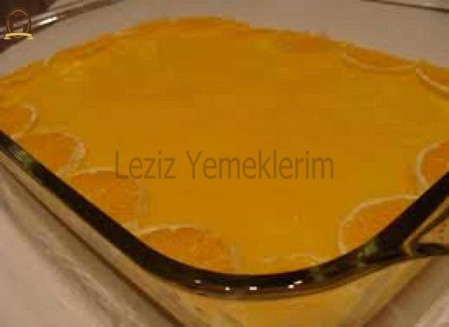 Portakal Soslu Pasta