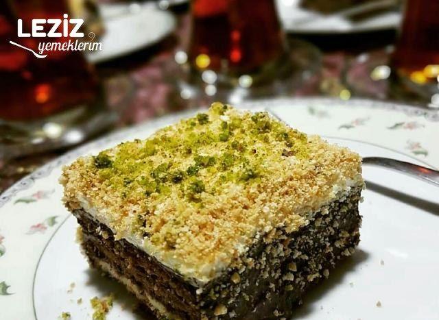 Kolay Yaş Pasta (Bisküvili)