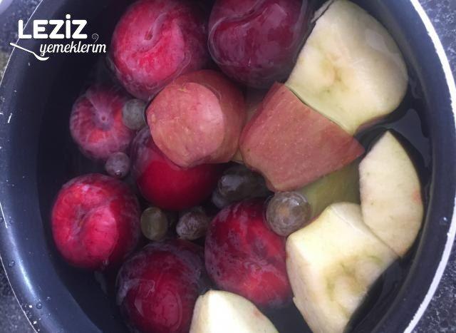 Karışık Meyve Suyu (Ev Yapımı)
