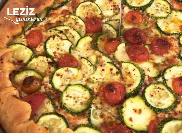 Kabaklı Pizza