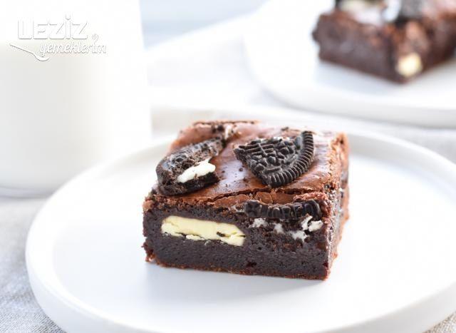 Çikolata Dolgulu Brownie