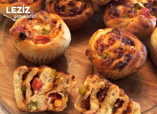 Muffin Kalıbında Pizza
