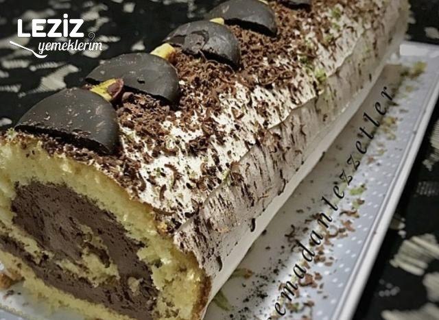 Klasik Çikolatalı Sarma Pasta