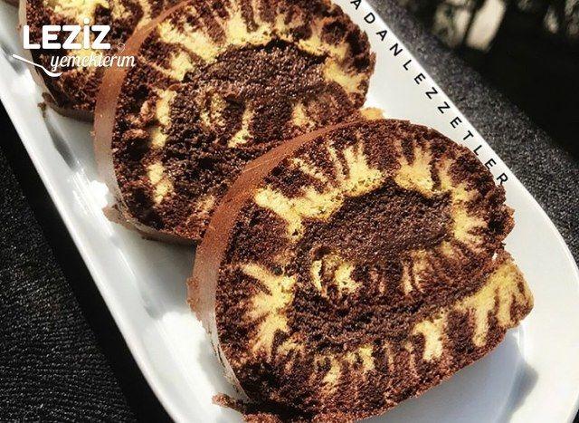Kasırga Kek (Kasırga Güneş Rulo Pasta)