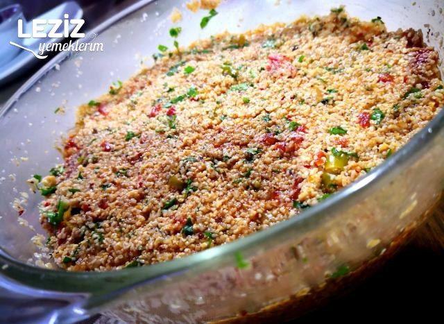 Domates Biber Soslu Bulgur Salatası