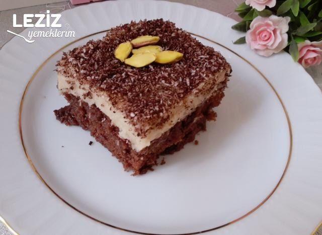 Çikolatalı Kahveli Pasta