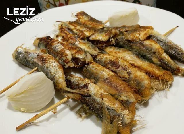 Tavada Şiş Sardalya Balığı