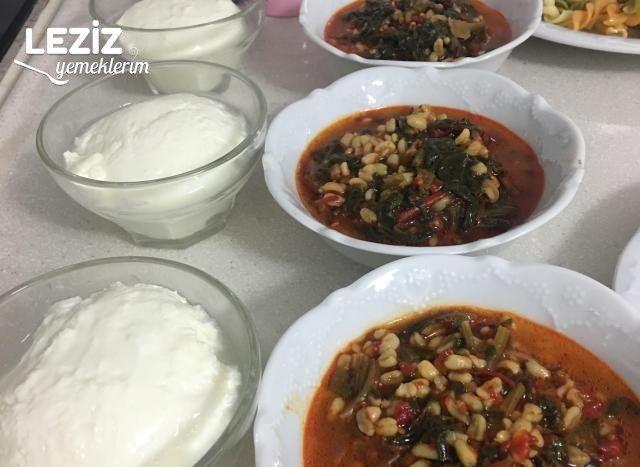 Bulgurlu Ispanak Çorbası
