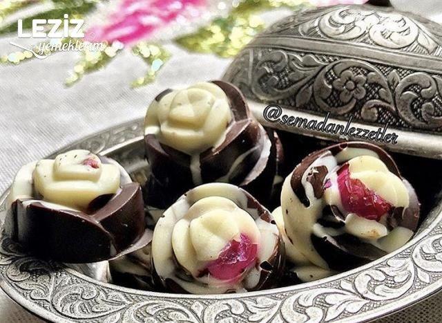 Evde İkramlık Çikolata Yapımı