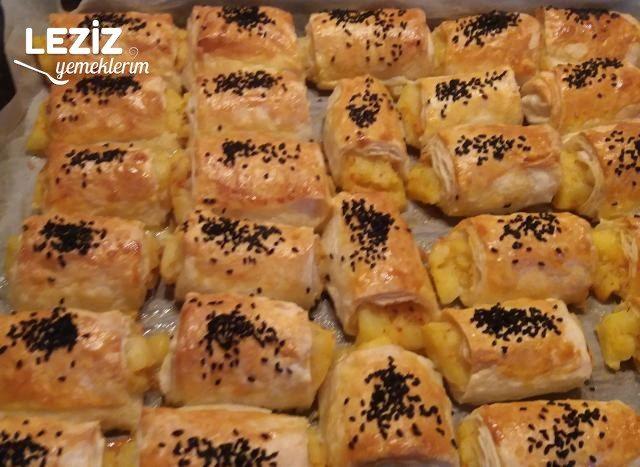 Puf Puf Kabaran Patatesli Börek