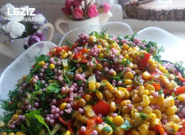 Şalgam Suyu İle Kuskus Salatası