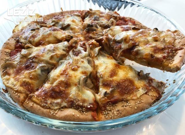Susamlı Ev Pizzası