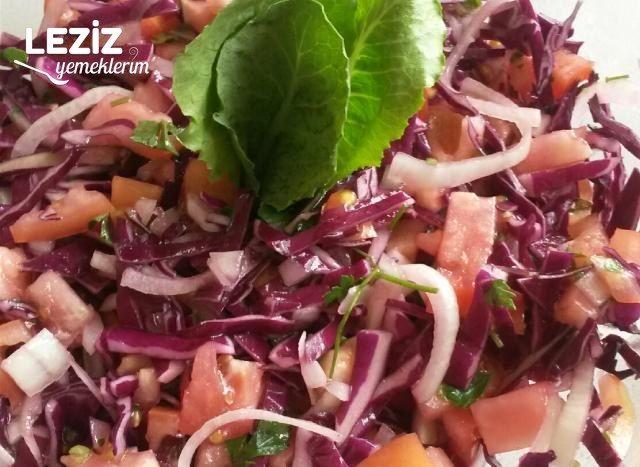 Karışık Mor Lahana Salatası