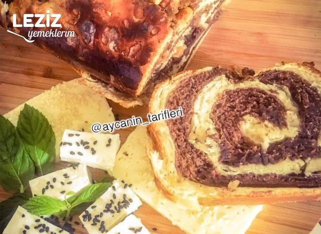 Kakaolu Cevizli Rulo Ekmek