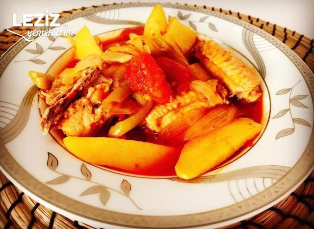 Tencerede Tavuklu Patates Tava Yemeği