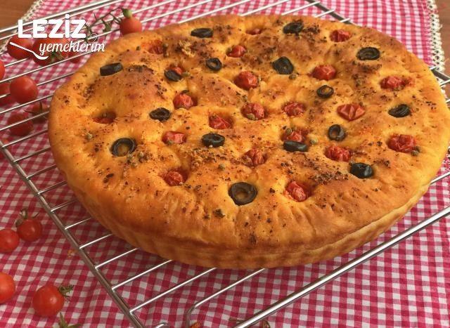 İtalyan Ekmeği (Focaccia)