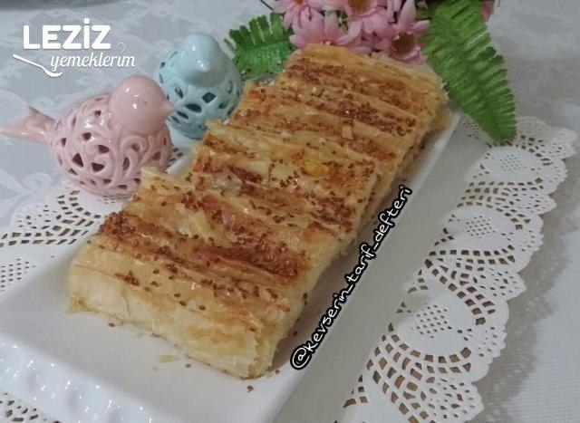 Çıtır Çıtır Peynirli Pileli Börek Tarifi