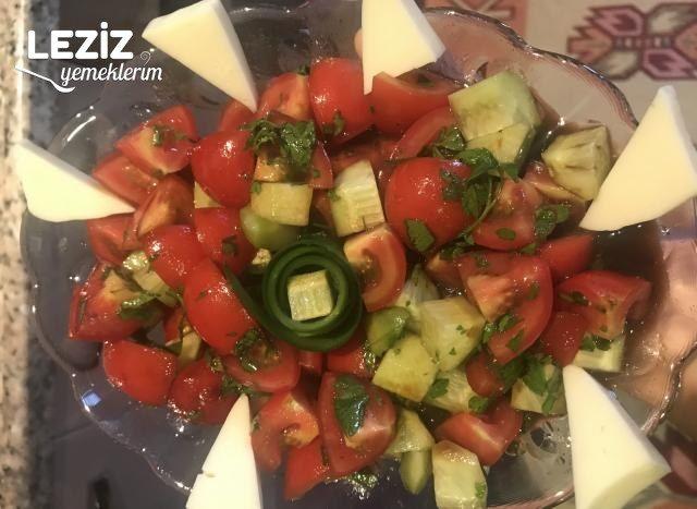 Nefis Kahvaltı Salatası