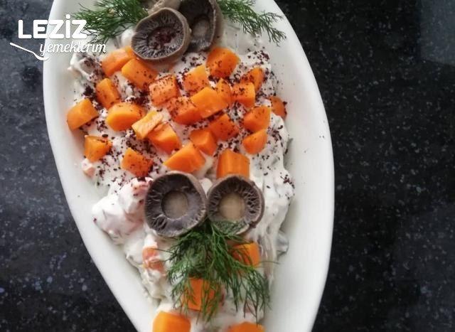 Mantarlı Enginar Salatası