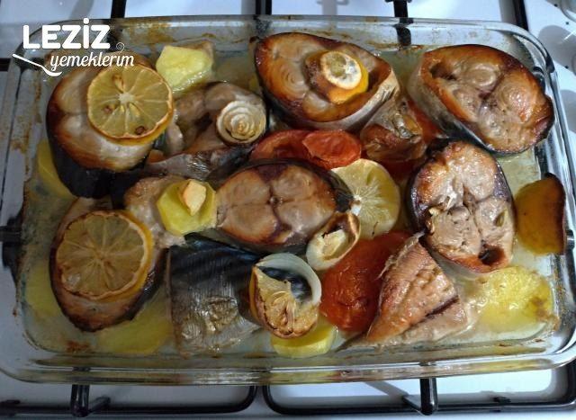 Fırında Patatesli Palamut