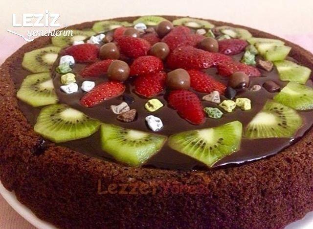 Nefis Çikolatalı Tart Kek (Püf Noktaları İle)