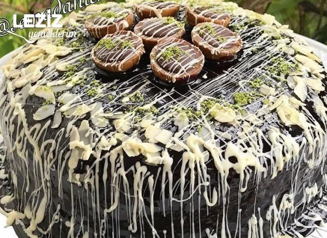 Muhteşem Çikolatalı Pasta
