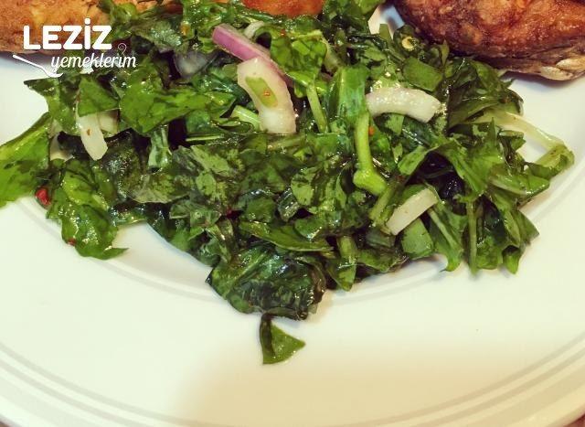 Roka Salatası Yapılışı