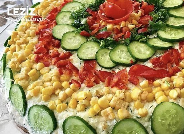 Salatalık Patates Salatası