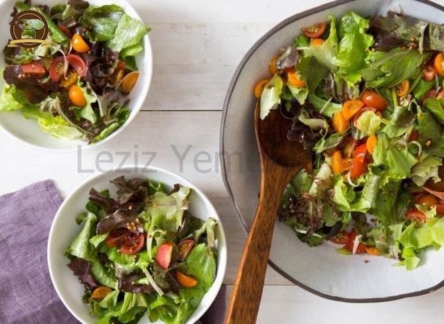 Yeşil Salata Yapılışı
