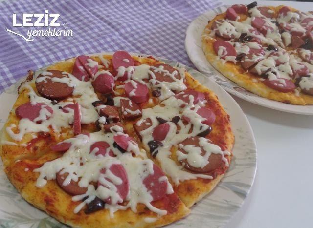 Tavada Kolay Pizza (Az Malzemeli)