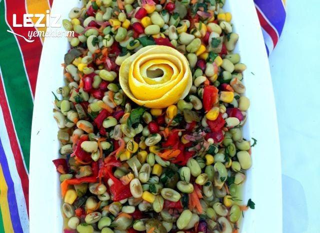 Taze İç Börülce Salatası